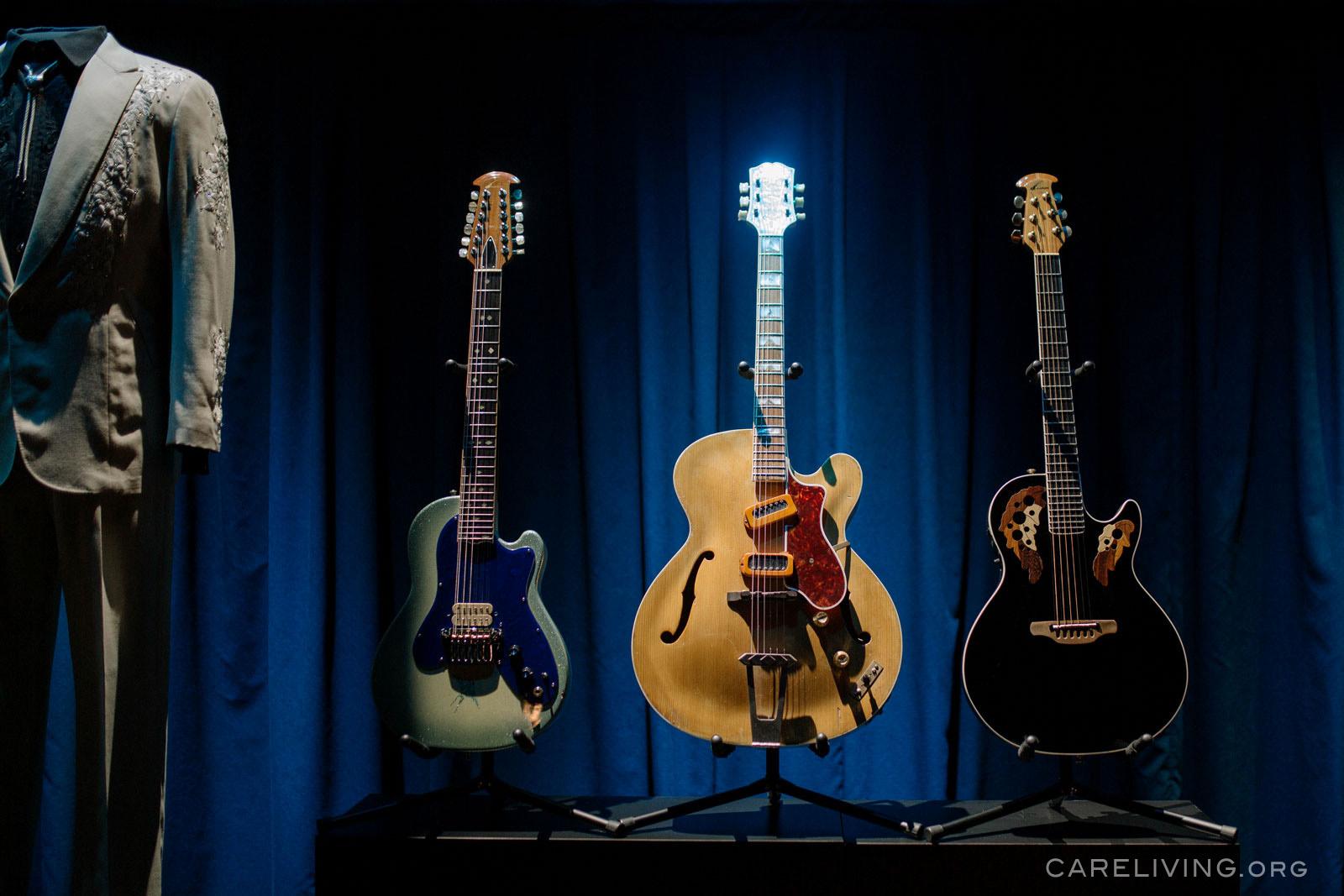 Glen's guitars